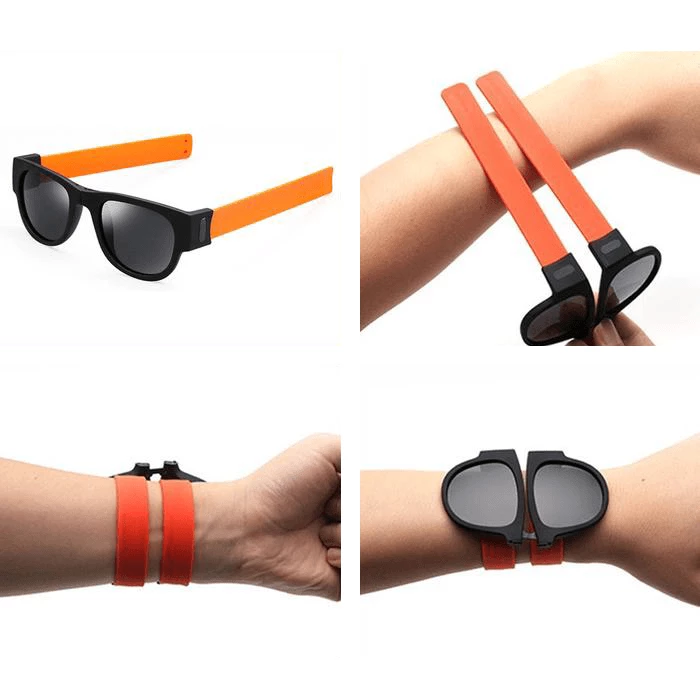 Foldable Sunglasses Wristband