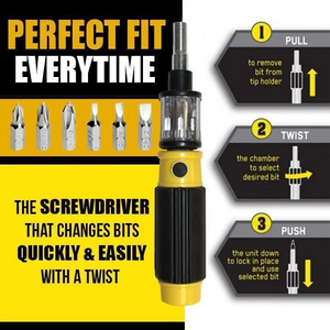 6 in 1 Screwdriver