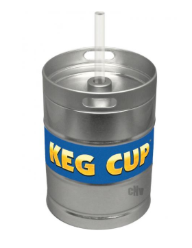 Keg Cup 24oz Capacity