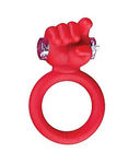 I Want You Vibrating Cock Ring Red