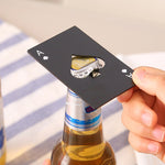 Ace of Spade Beer Bottle Opener