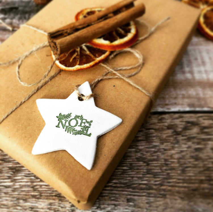Noel Star Decoration/Gift Tag