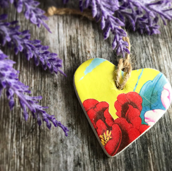 Tropical Clay Heart
