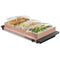 HomeCraft™ 3-Station 2.5-Quart Buffet Server & Warming Tray, Copper