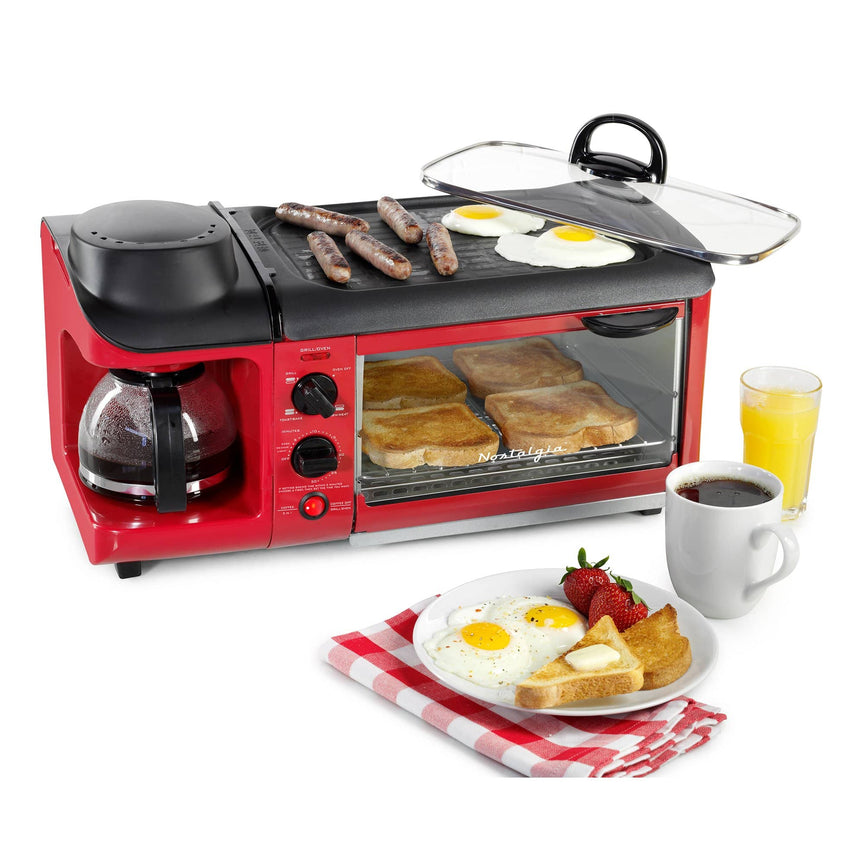Retro 3-In-1 Family Size Breakfast Station