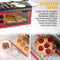 Nostalgia BST3RR Retro 3-in-1 Family Size Breakfast Station, Retro Red