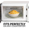 Classic Retro 0.7 Cu. Ft. 700-Watt Countertop Microwave Oven With LED Display