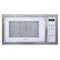 Farberware Classic 1.1 Cu. Ft. 1000-Watt Microwave Oven, White and Platinum