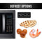 Farberware Black 1.2 Cu. Ft. 1100-Watt Microwave Oven with Grill, Black Stainless Steel