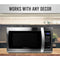 Farberware Professional 1.3 Cu. Ft. 1000-Watt Microwave Oven, Stainless Steel