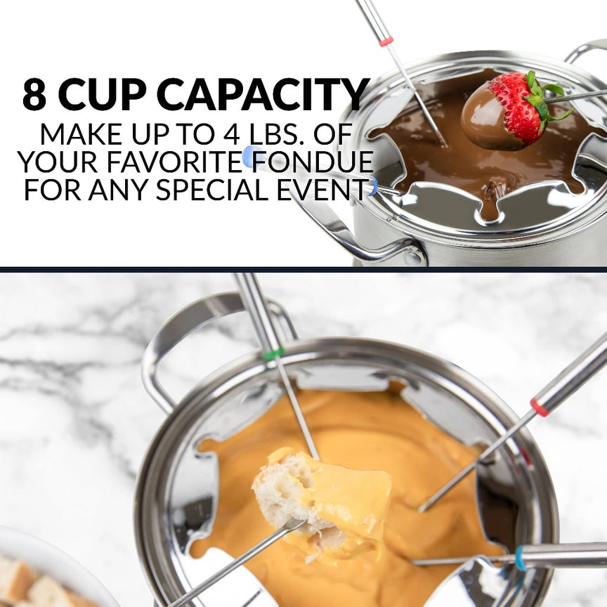 HomeCraft™ 8-Cup Electric Fondue Set