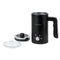 HomeCraft 4-in-1 Electric Automatic Milk Frother, Black