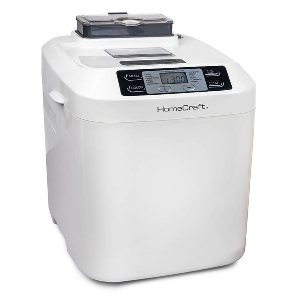 HomeCraft™ Programmable 2 Lb. Breadmaker With Auto Fruit & Nut Dispenser