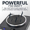 HomeCraft™ Single Burner Hot Plate