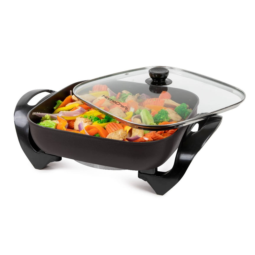 HomeCraft™ 12-Inch Electric Non-Stick Skillet