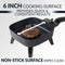 HomeCraft™ 6-Inch Electric Non-Stick Skillet