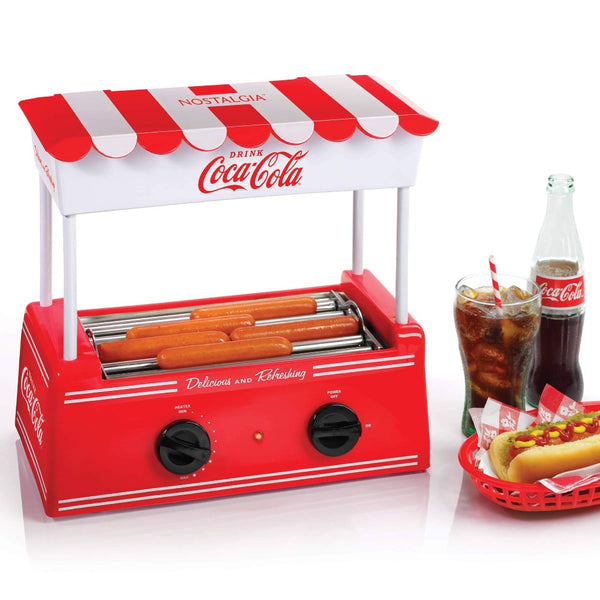 Coca-Cola® Hot Dog Roller and Bun Warmer, 8 Hot Dog and 6 Bun Capacity