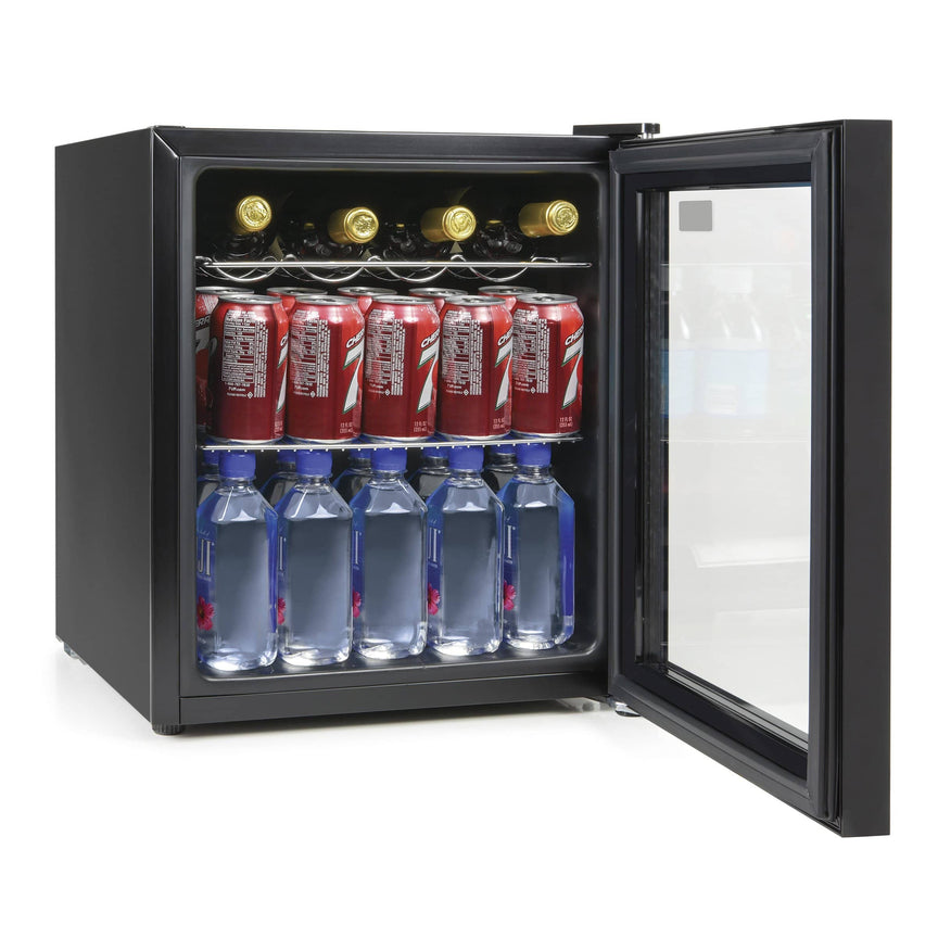 IGLOO® 15-Wine Bottle or 60-Can Glass Door Beverage Center Refrigerator and Cooler
