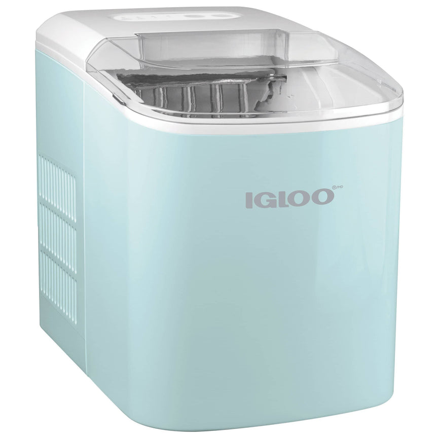 IGLOO® 26-Pound Automatic Portable Countertop Ice Maker Machine - Aqua