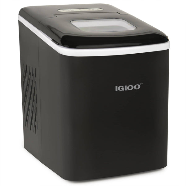IGLOO® 26-Pound Automatic Self-Cleaning Portable Countertop Ice Maker Machine, Black