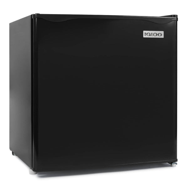 Igloo® 1.6-Cubic Foot Dorm Room Refrigerator / Freezer, Black
