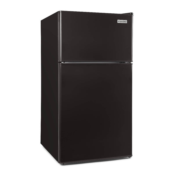 Igloo® 3.2 Cu. Ft. Double Door Refrigerator With Freezer, Black