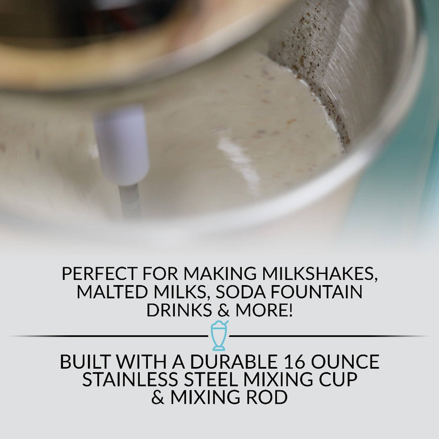 2-Speed Milkshake Maker and Drink Mixer