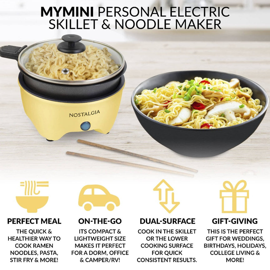 MyMini™ Personal Electric Skillet & Grill