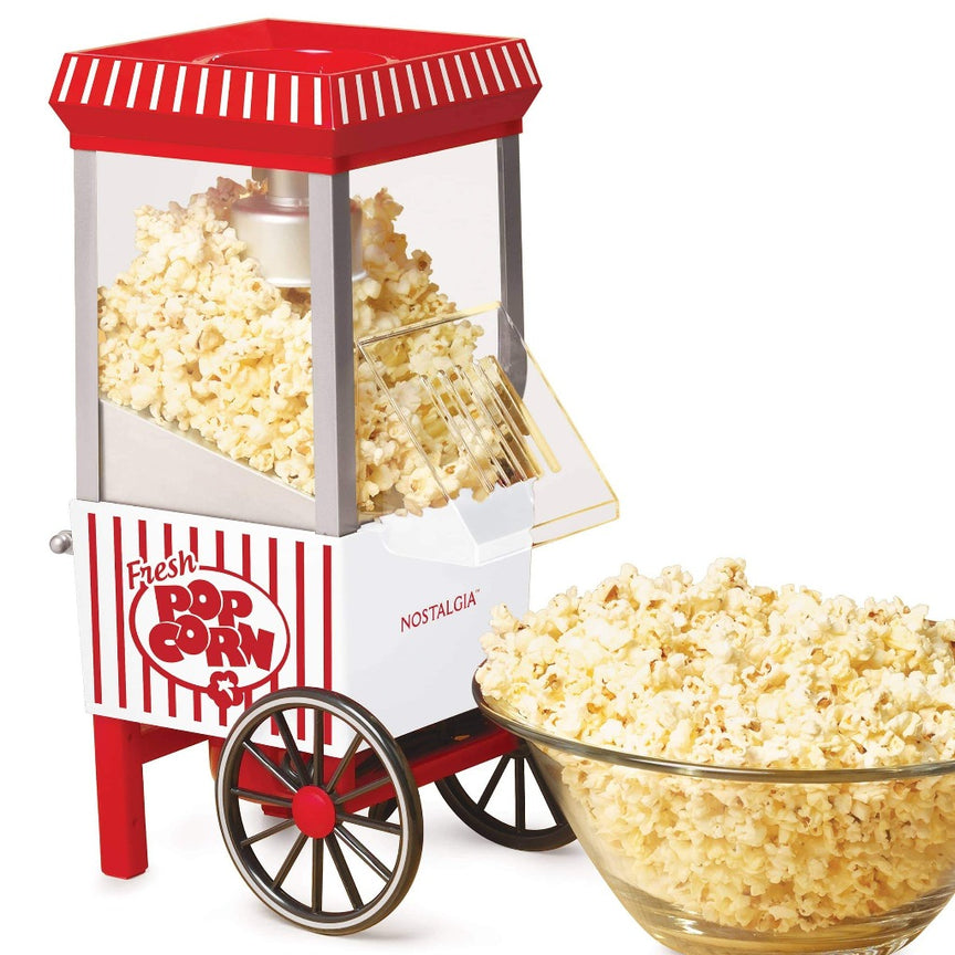 12-Cup Hot Air Popcorn Maker