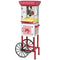 48-Inch 2.5-Oz. Popcorn Cart, Red/White