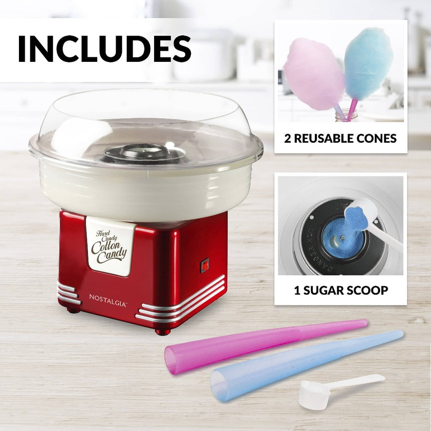 Retro Hard Candy Cotton Candy Maker
