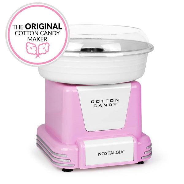 Hard & Sugar-Free Candy Cotton Candy Maker, Pink