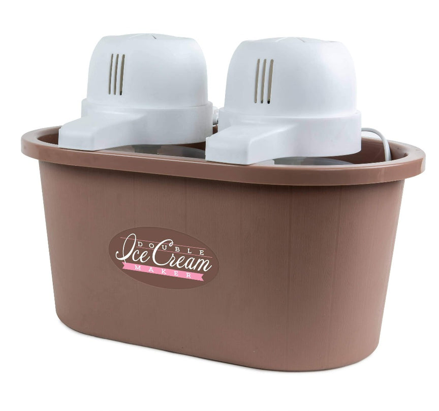 4-Quart Double Flavor Ice Cream Maker