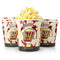 Nostalgia 4-Quart Reusable Movie Theater Popcorn Bucket - 6 Pack
