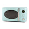 Retro 0.7 Cubic Foot 700-Watt Countertop Microwave Oven - Aqua