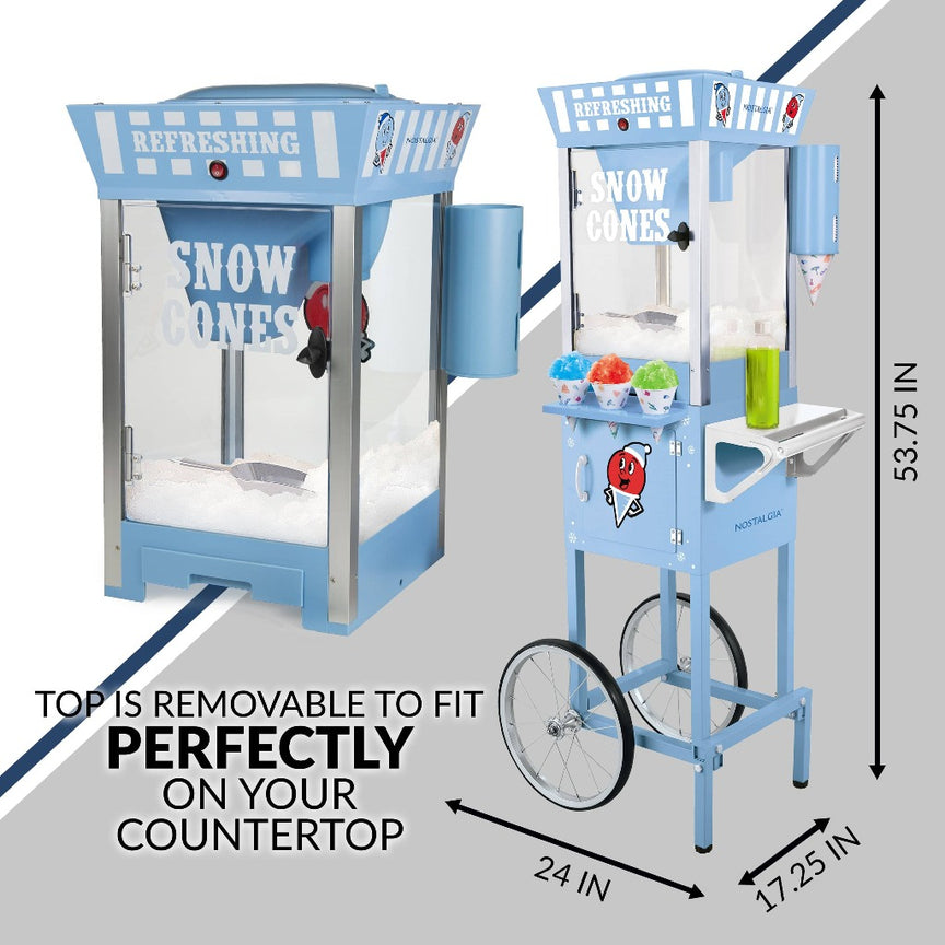 54-Inch Tall Snow Cone Cart