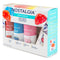 Nostalgia SCK3 Premium 16-Ounce Snow Cone Syrups, Cups and Spoon-Straws Party Kit