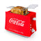 Coca-Cola® Grilled Cheese Toaster with Easy-Clean Toaster Baskets and Adjustable Toasting Dial