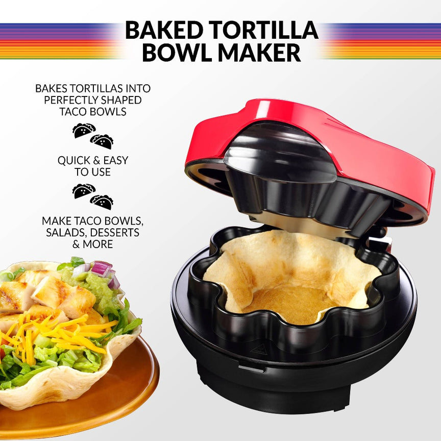 Taco Tuesday Baked Tortilla Bowl Maker