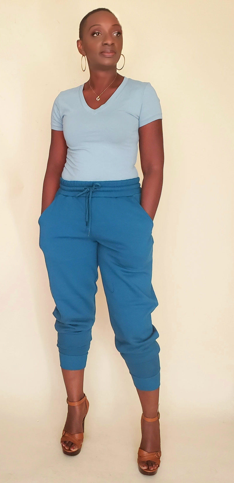 Gina|Jogger Set (Teal)