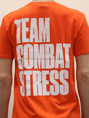 *New* Team Combat Stress T-shirt