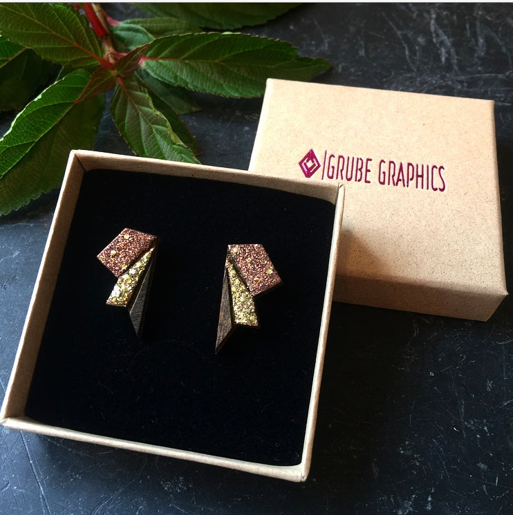 Image of   Small Wings Copper & Gold