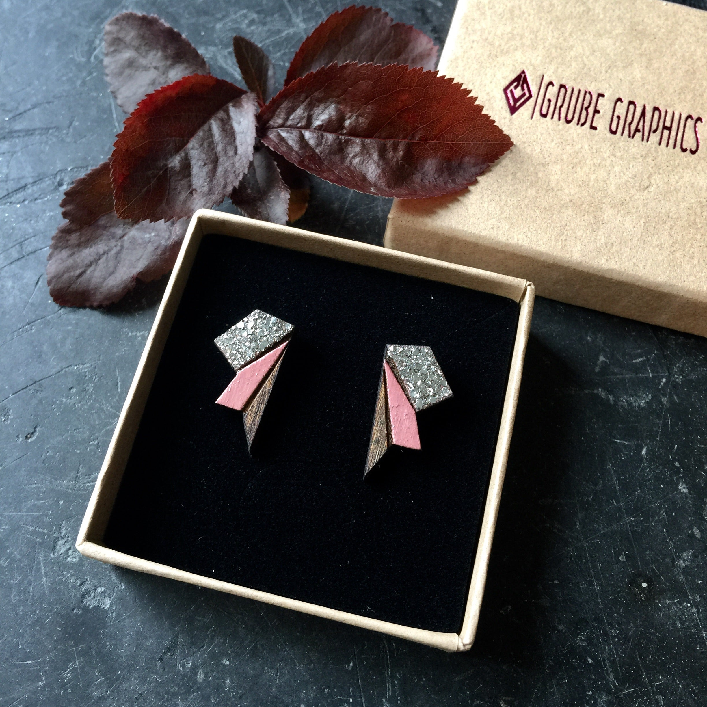 Image of   Small Wings - Rose&Silver