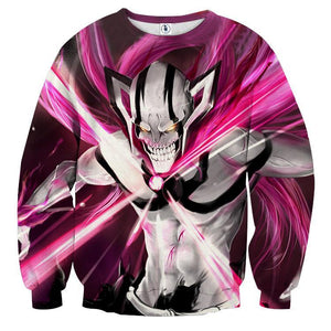 Bleach Ichigo Full Face Full Form Devil Amazing Fan Art Sweatshirt - Konoha Stuff