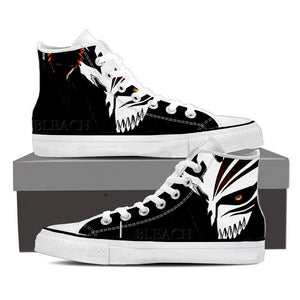 Bleach Ichigo Hollow Mask Draw Color Print Dope Converse Shoes