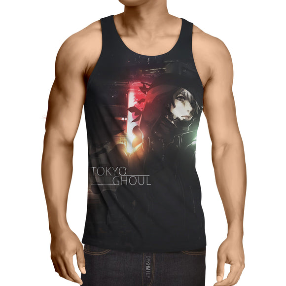 Tokyo Ghoul Super Awesome Design Dope 3D Full Print Tank Top - Konoha Stuff