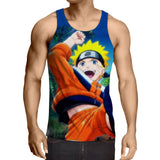 Naruto Kid Japan Anime Fan Art Full Print Amazing Tank Top