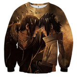 Naruto Japan Anime Itachi And Sasuke Fight Anime Sweatshirt