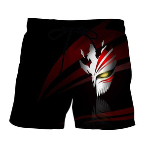 Bleach Hollow Mask Symbol Manga Inspiration Design Shorts - Konoha Stuff