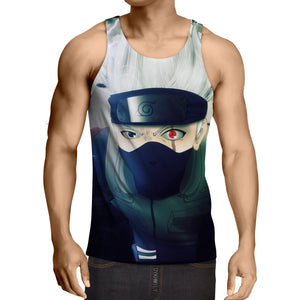 Naruto Ultimate Ninja Storm Game Kakashi Chidori Tank Top